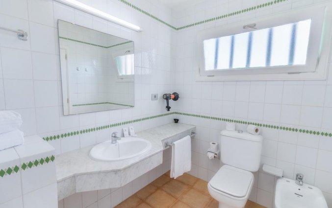 Badkamer van appartementen Las Gaviotas in Lanzarote