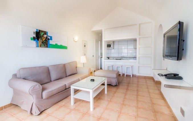 Woonkamer van appartementen Las Gaviotas in Lanzarote