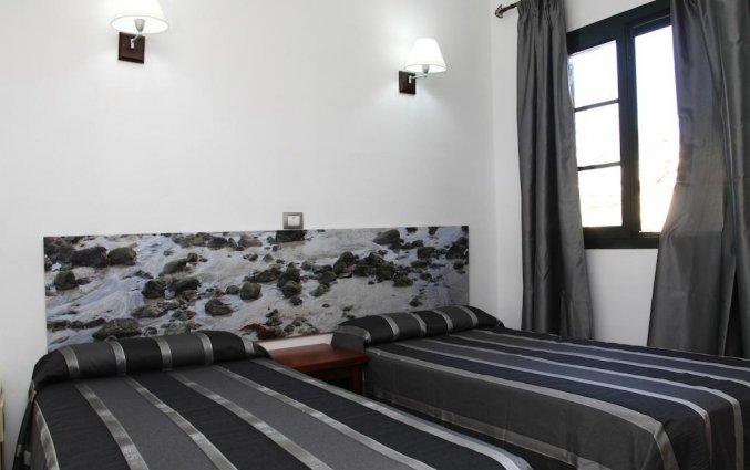 Slaapkamer van appartementen Santa Rosa in Lanzarote