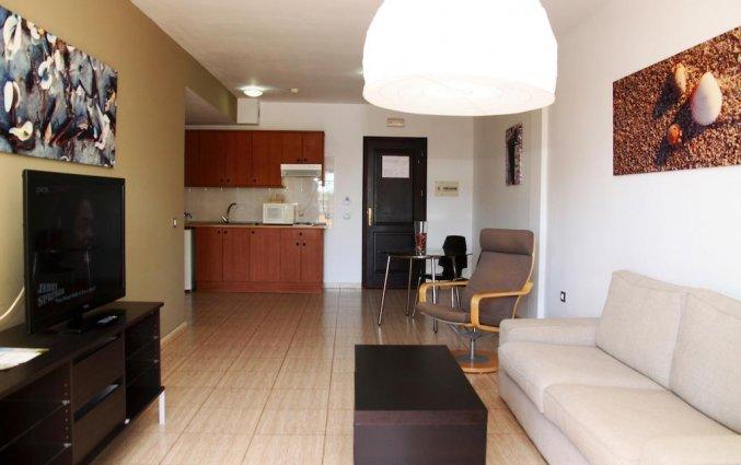 Woonkamer van appartementen Santa Rosa in Lanzarote