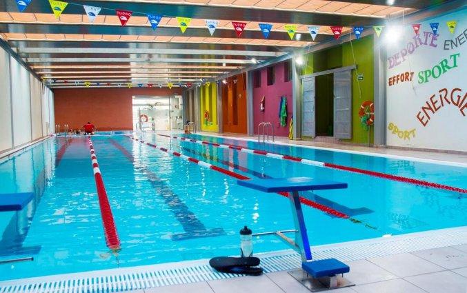 Zwembad van appartementen Santa Rosa in Lanzarote