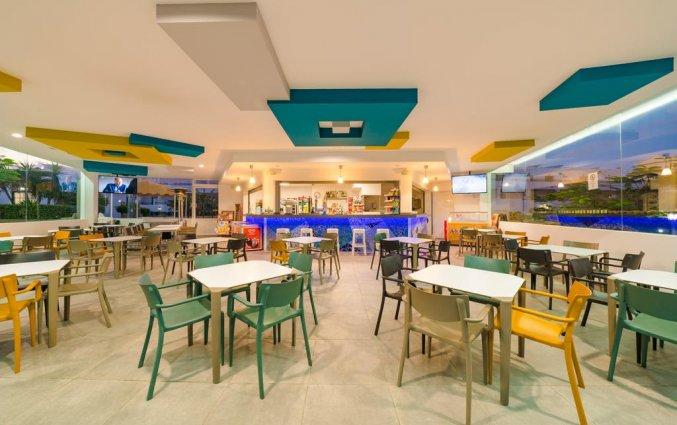 Restaurant van appartementen Santa Rosa in Lanzarote