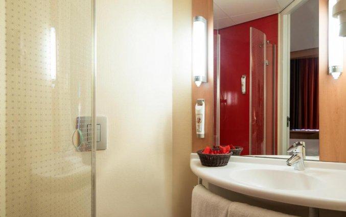 Tweepersoonskamer van Hotel Ibis Leiden Centre in Leiden