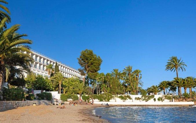 Strand van hotel THB Los Molinos in Ibiza