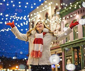 Kerstvakantie - 25 december tot 9 januari